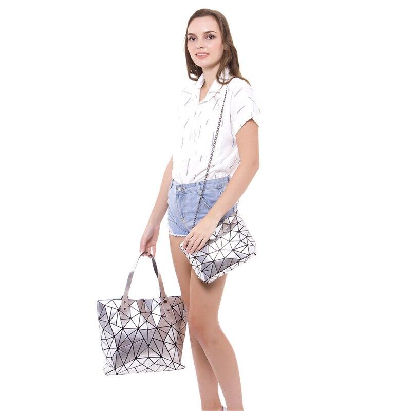 2018 Moda Bao Mujeres Bolso de playa de lujo Bolsos de mano Holograma - Bolsos - foto 2