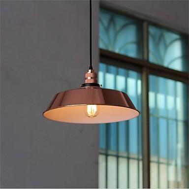 26CM Edison Loft Industrial Pendant Lamp For Dinning Room Vintage Style Light Fixtures American Retro Pendant Lighting