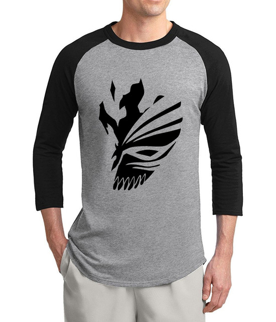 Adult Anime Bleach Kurosaki Ichigo Cartoon T shirt