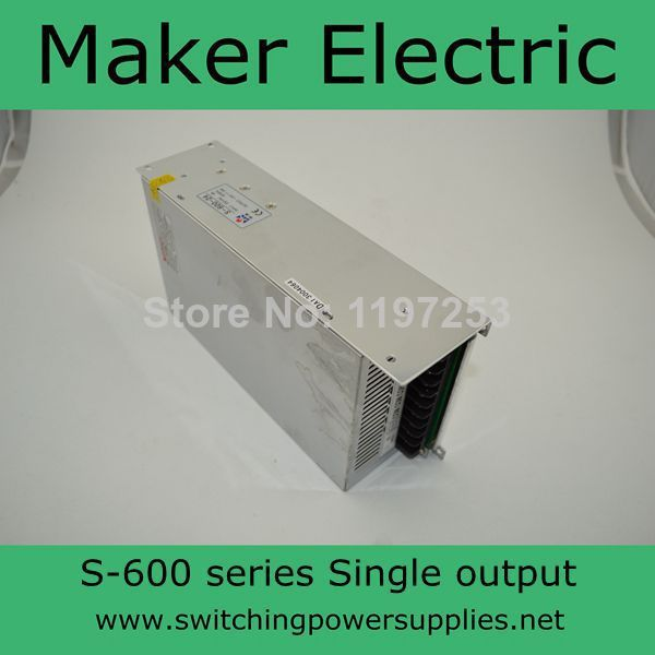 strong switch mode power supply for LED Strip light 600w S-600-27 22A цена и фото