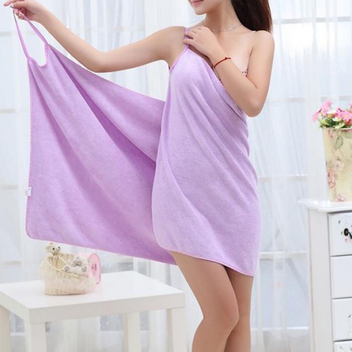 0a47b0a870 Bath Towels Fashion Lady Girls Wearable Fast Drying Magic Bath Towel ...