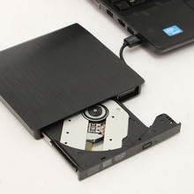 External USB3.0 Recordable DVD-ROM CD-RW DVD-RW Burner Drive Buffer 2MB For PC Laptop