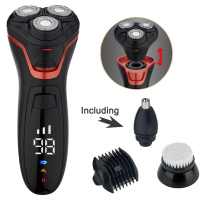 Four in one Multi energy Three men shaver machine Multi function shaver for men mens grooming beard trimmer
