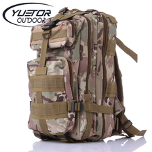 Brand YUETOR waterproof nylon outdoor molle military climbing backpack army bags camping hiking bags mountaineering tactical bag