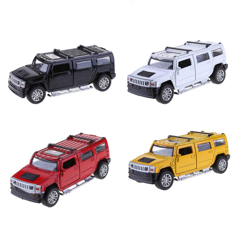 1:32 Alloy Simulation Model Car Kids Off-road Model Toys Pull Back Vehicle Car Model for ...