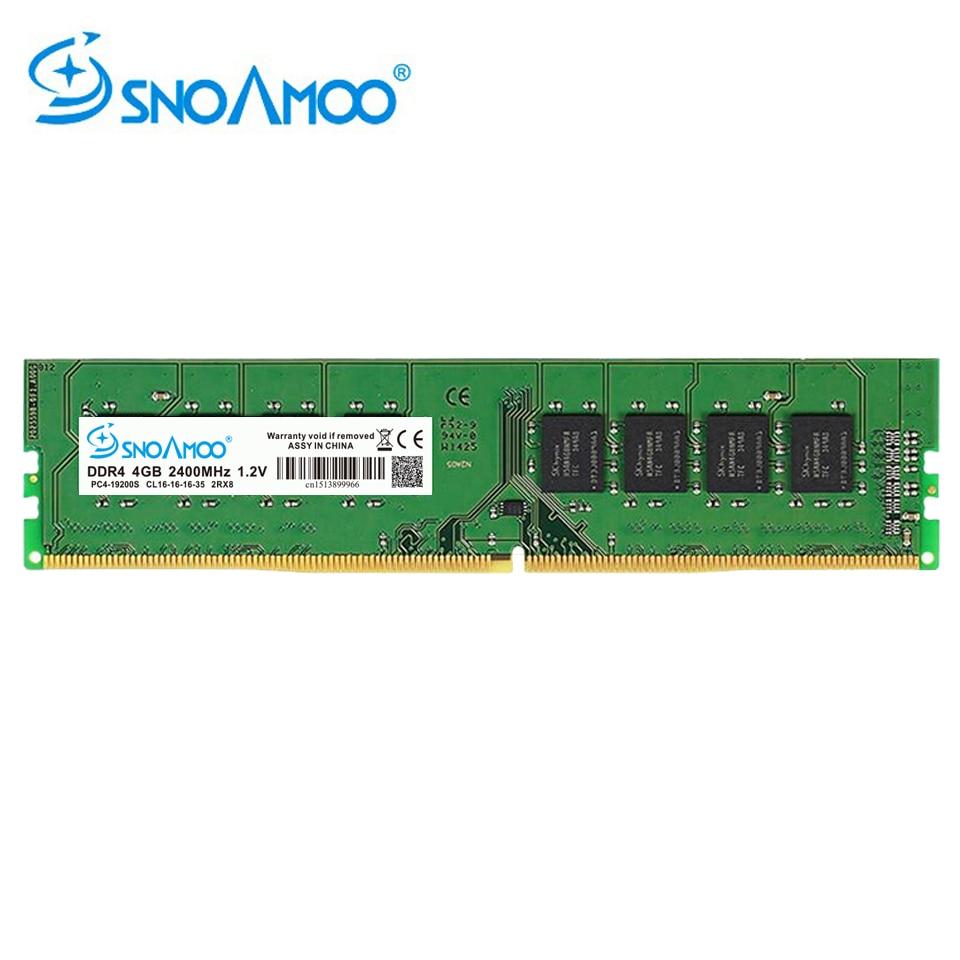 SNOAMOO Nouveau Bureau PC DDR4 8 GB 2133-2400 MHz CL15 PC4-17000S 1.2 V 2Rx8 288-Pin DIMM Pour Intel ordinateur Béliers Garantie À Vie - 2