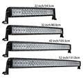 weketory 4D 5D 22 32 42 52 inch 200W 300W 400W 500W Curved LED Work Light Bar for Tractor Boat OffRoad 4WD 4x4 Car Truck SUV ATV