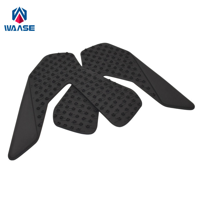waase For Honda CBR1000RR <font><b>CBR</b></font> <font><b>1000</b></font> <font><b>RR</b></font> <font><b>2017</b></font> 2018 2019 Tank Pad Protector Sticker Decal Gas Knee Grip Tank Traction Pad Side image