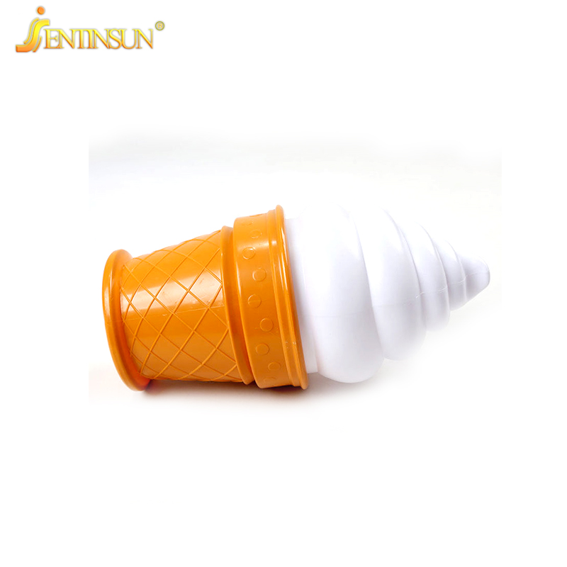 Novelty Ice Cream LED Night Light Bedside LED NightLights Cone Shaped Desk Table Lamp Lighting for Kids Children Room Decor