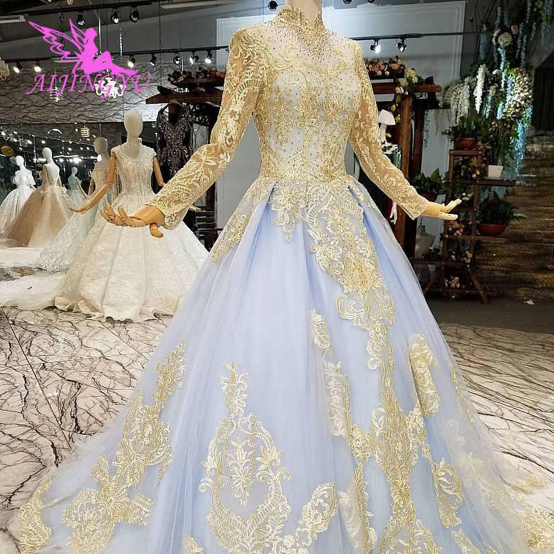 0310f6106d687 Detail Feedback Questions about AIJINGYU Designer Wedding Dresses ...