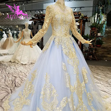 AIJINGYU Designer German Reception Gown Wedding Dress