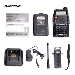 Image 4 - BaoFeng اسلكية تخاطب UV 5R اتجاهين راديو ترقية النسخة uv5r 128CH 5 W VHF UHF 136 174 Mhz و 400 520 Mhz متعددة تركيبات