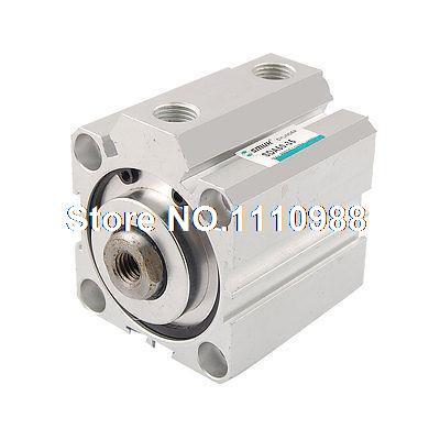 1.0MPa 50mm Bore 35mm Stroke Aluminum Alloy Compact Air Cylinder1.0MPa 50mm Bore 35mm Stroke Aluminum Alloy Compact Air Cylinder