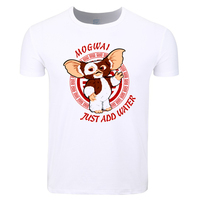 Asian Size Men And Women Print Gremlins Gizmo   T  -  shirt   O-Neck Short Sleeve Summer Casual Tshirt HCP4368