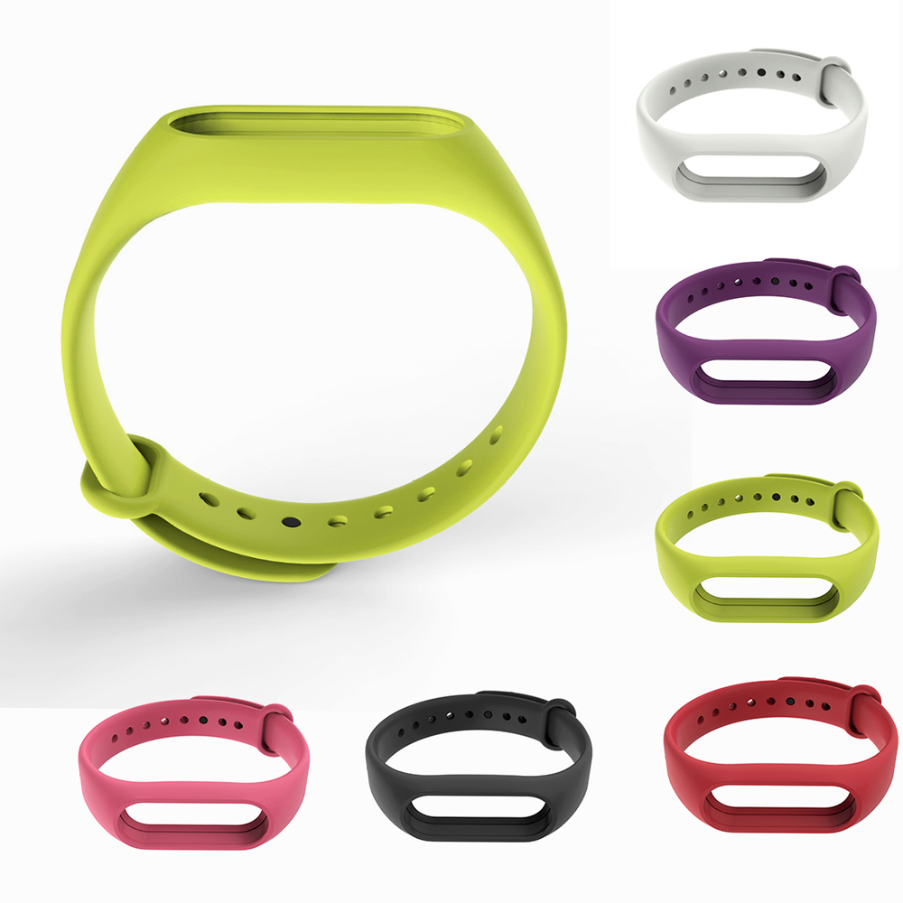 New Mi Band 2 Strap For Xiaomi MiBand 2 Bracelet Silicone Wristband Smart Band Replace Accessories P0.11
