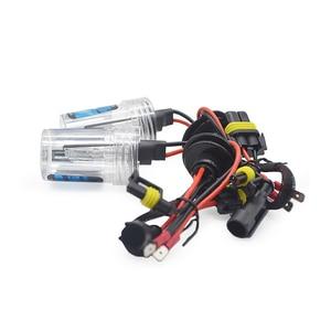 Image 2 - 55W Xenon bulb H1 H3 H7 H11 9005 9006 12V 55W HID Xenon bulb Auto Car Headlight Replacement lamp 4300K 6000K 8000K