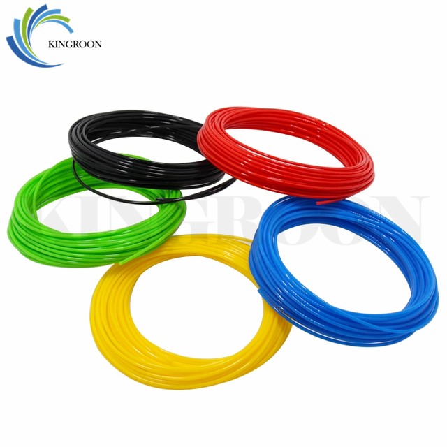 10 Meter PLA 1.75mm Filament Printing Materials Plastic For 3D Printer Extruder Pen Accessories Black White Red Colorful Rainbow 2
