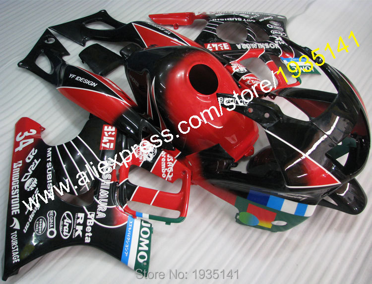 Hot Sales,For Honda CBR600 F3 1997-1998 Parts CBR 600 F3 97-98 CBR600F3 Multicolor New Motorcycle Fairings (Injection molding)