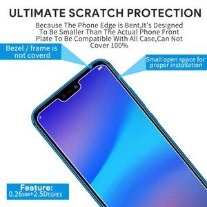 Image 3 - 2pcs מזג זכוכית עבור Huawei P20 לייט זכוכית Huawe P40 אור E P30 P 40 20 פרו P10 בתוספת p9 מיני P8 מסך מגן בטיחות סרט