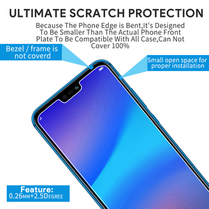 Image 3 - 2pcs Tempered Glass For Huawei P20 Lite Glass Huawe P40 Light E P30 P 40 20 Pro P10 Plus P9 Mini P8 Screen Protector Safety Film