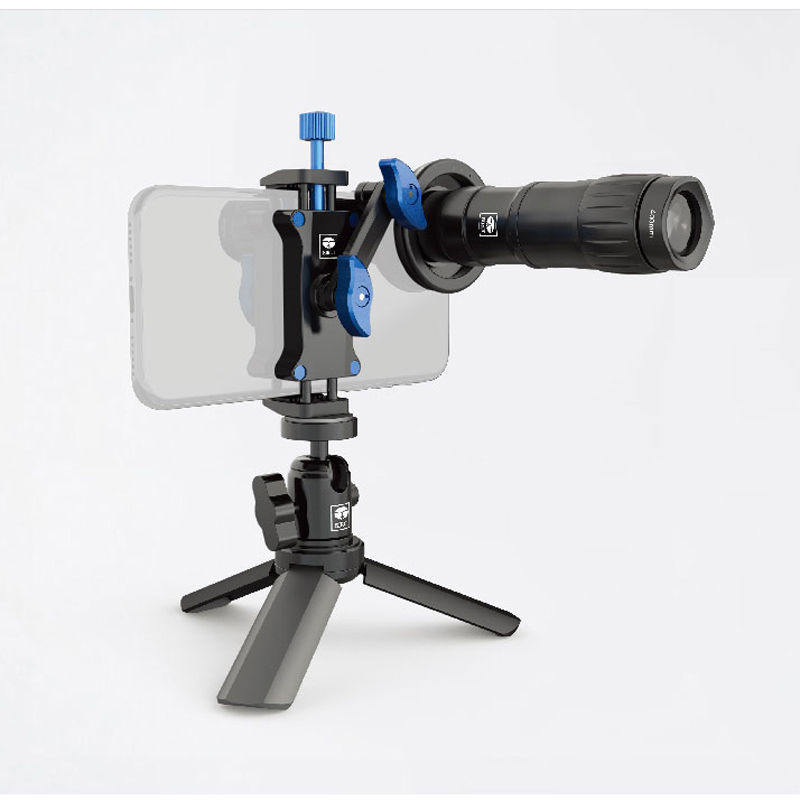 SiRui 400mm universal mobile phone telephoto lens 18 times mobile photography professional lens for iPhone Xiaomi Smartphones