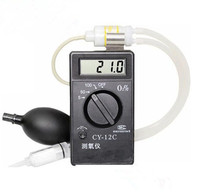 Professional Portable O2 Oxygen Concentration Content Tester Meter High Accuracy Oxygen Detector Monintor CY 12C Gas Analyzer