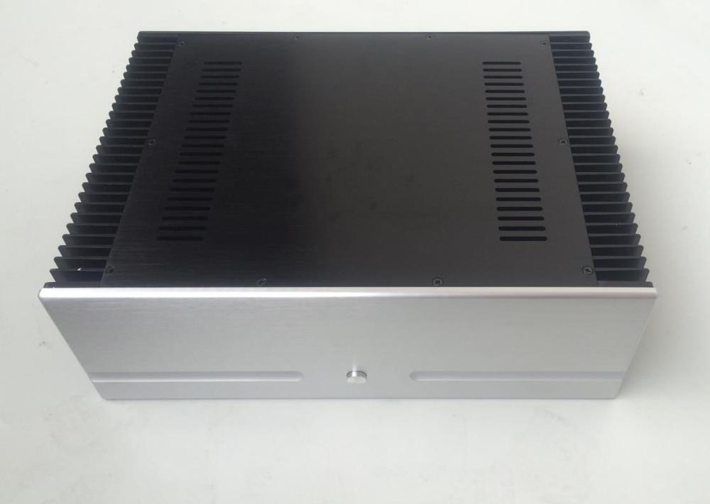 case size:430*150*311mm 4315B PASS Full aluminum amplifier chassis/Class A amplifier shell/AMP Enclosure/amp case/DIY box queenway hifi class pass xa 30 5 hi end full aluminum amplifier chassis case box 430mm 430mm 170mm 430 430 170mm