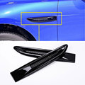 Piano Black Car Side Fender Cover Trim 3D Sticker For Jaguar XE F-Pace XF/XFL 2016 f pace Car Styling Accessories