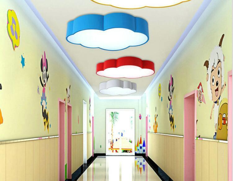Led nube camera dei bambini dei bambini di illuminazione soffitto