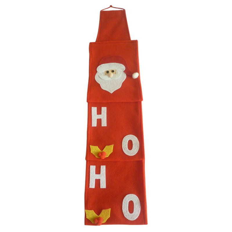 Red Christmas Santa Claus Toilet Roll Paper Hanger Tissue Box Cover Bathroom Accessories
