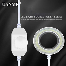 цена на UANME Ultrathin 36 LED Adjustable Ring Light illuminator Lamp For STEREO ZOOM Microscope USB Plug Adjustable brightness