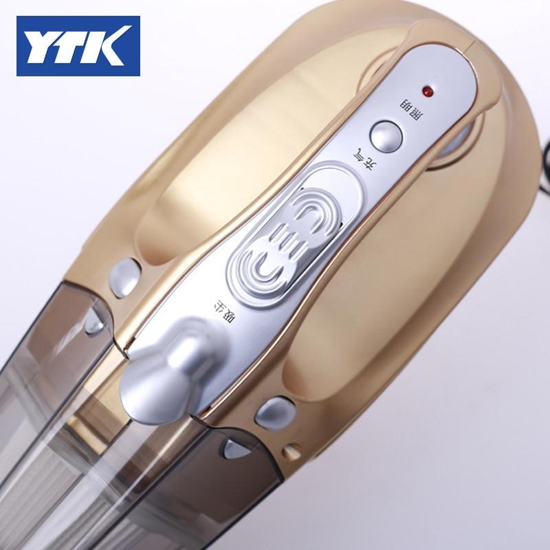 YTK Car Vacuum Wet&Dry Dual Use Car Vacuum Cleaner Portable Car Handheld Vacuum Cleaner