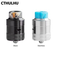 New Original Cthulhu Mjolnir RDA with 24mm RDA single coil with double chamber & BF pin Fit Squonker MOD vape tank vs Drop RDA