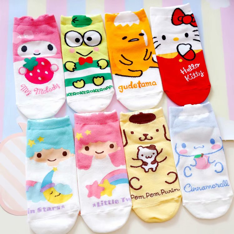 77cbb6cce 2019 Women Socks Slippers Creative Novelty Cartoon My Melody ...