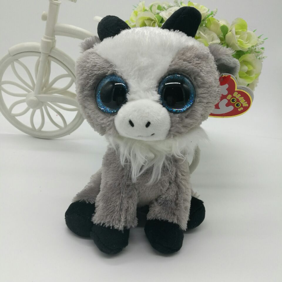 41cc575cf48 gabby goat sheep TY BEANIE BOOS collection lamb 15CM 6