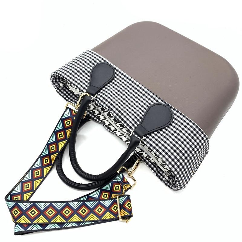 2018 Obag DIY LOGO Handles Women Bag Classic Inner Bag