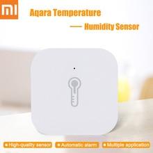 New Original Xiaomi Aqara Temperature Humidity Sensor Smart Home Device Air Pressure Work With Android IOS APP Fast Ship цена 2017