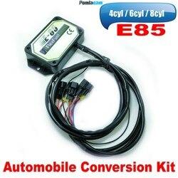 E85 4cyl 6cyl 8cyl Auto conversion kit Flex Fuel ethanol alternative fuel with Cold Start Asst.connectors available for EV1, EV6