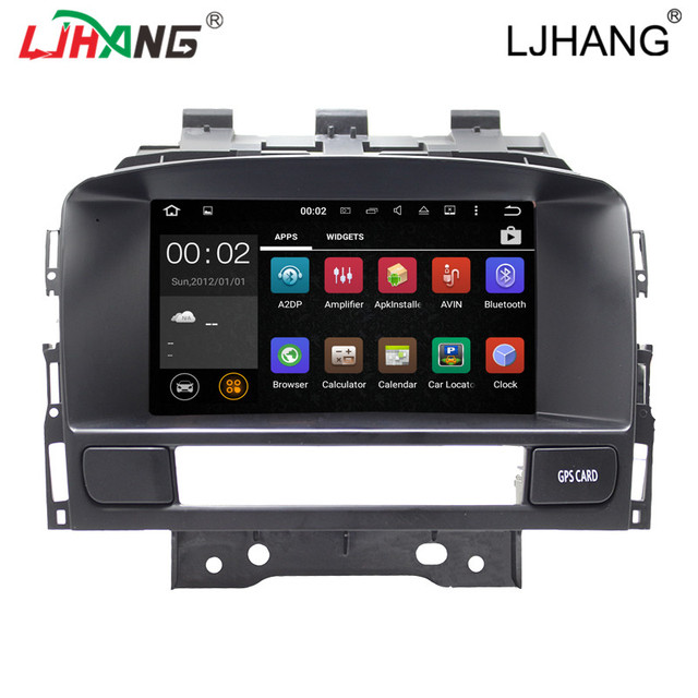"""Double din 7"""" android 5.1 car radio gps  for Opel Astra J with 3G, wifi, BT, Steering Wheel Control RDS steer wheel contol map"""