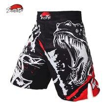 Спортивные шорты черные suotf чернильный стиль властные Кричащие ММА фитнес дышащие шорты бой Бокс Тигр Муай Тай дешевые ММА шорты boxeo