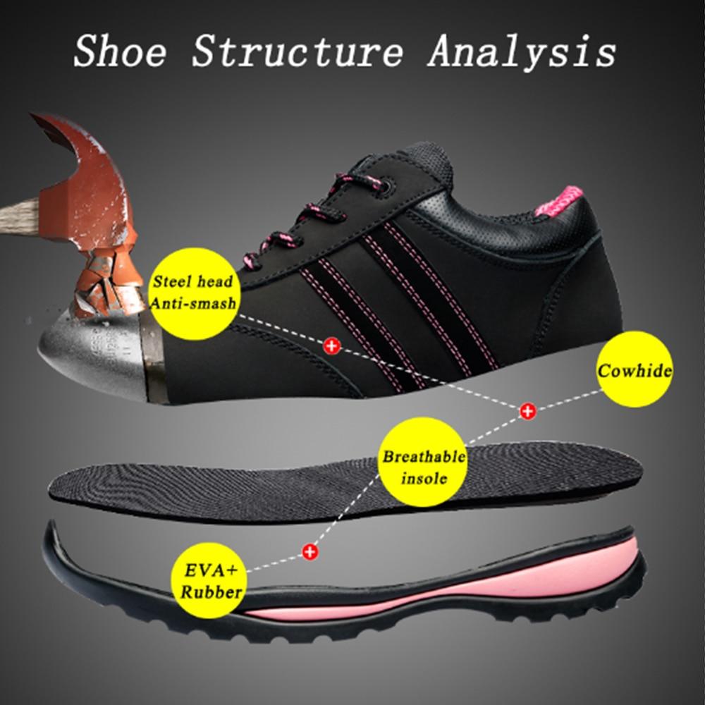 Scarpe da donna 2018 Nuovi Arrivi di modo luce mesh traspirante scarpe di sicurezza delle donne scarpe casual donne scarpe da ginnastica.-in Stivaletti da Scarpe su  Gruppo 3
