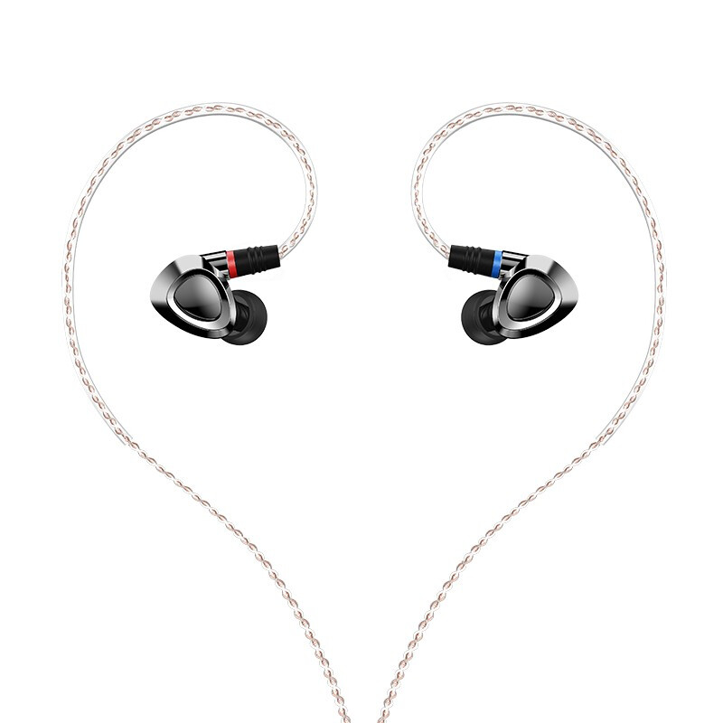 SHANLING ME500 Triple driver Hybrid Earphones Knowles Driver Line Type HiFi Music In Ear Earphones with
