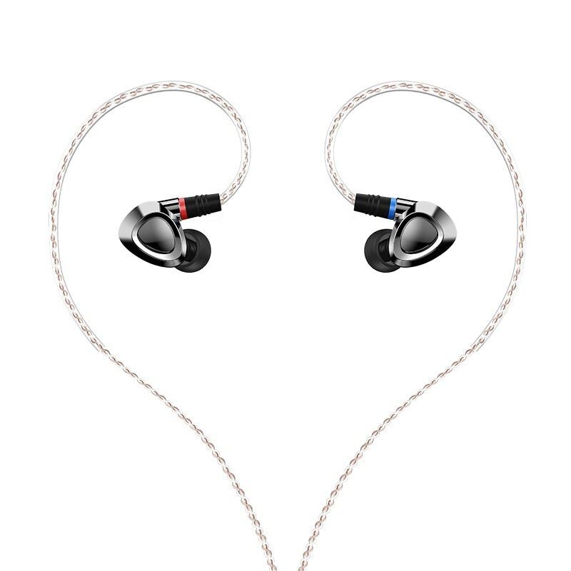 SHANLING ME500 Triple driver Hybrid Oortelefoon Knowles Driver Lijn Type HiFi Muziek In Ear Oortelefoon met Afneembare MMCX Kabel-in Oortelefoon van Consumentenelektronica op  Groep 1