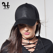 FURTALK Black Caps for Women Men Baseball Cap