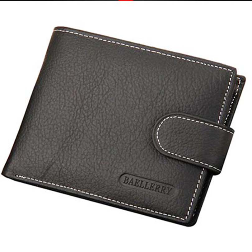 Wallet Men Leather Wallets Male Purse Money Credit Card Holder Genuine Coin Pocket Brand Design Money Billfold Maschio Clutch new genuine leather men long wallets 2017 brand designer credit card holder purse high quality coin pocket zipper wallet for men