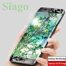9H Premium Tempered Glass For Samsung Galaxy S6 edge glass S7 edge glass Display screen Protecting For Galaxy S6 S7 Glass Protector movie