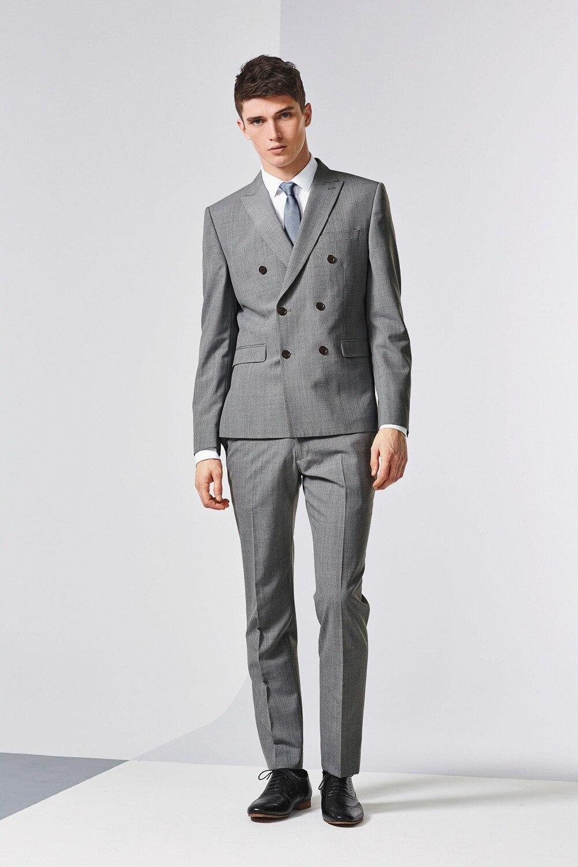 Aliexpress.com : Buy 2015 Tailor Made Suit for Men Grey Slim Fit