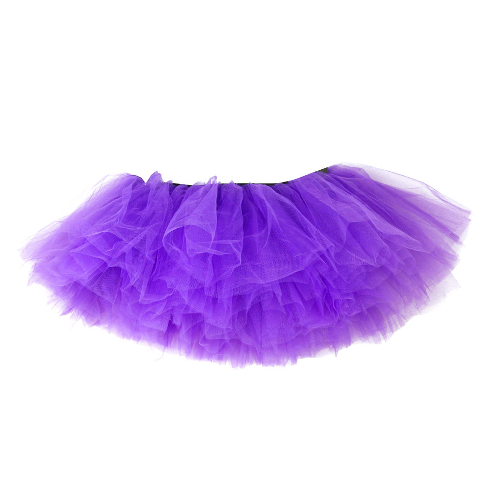 2019 MAXIORILL NEW Hot Sexy Fashion Pretty Girl Elastic Stretchy Tulle Adult Tutu 5 Layer Skirt Wholesale T4 55