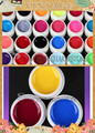 24Colors Professioanl Nail art Solid Color UV GEL Pure Colorful Nail Gel gel set  UV Builder Gel