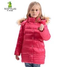2016 Filles D'hiver Manteaux Et Vestes Enfants Outwear Épais Chaud Vers Le Bas Veste Filles Vêtements Parkas Enfants Bébé Filles Vêtements